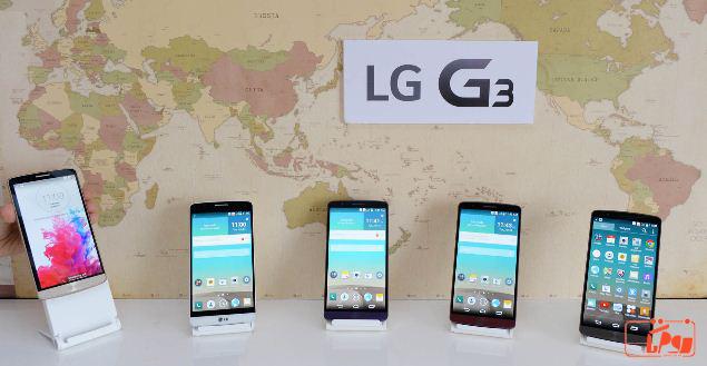 ال جی جی 3 جمعه ششم تیرماه به دنیای تکنولوژی عرضه خواهد شد