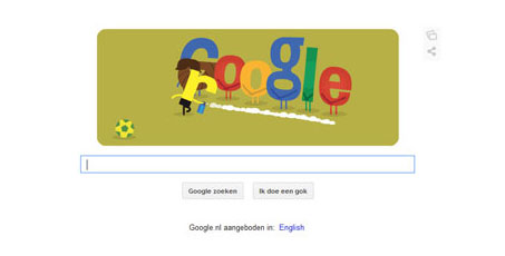 سوژه جدید گوگل برای لوگوی خودش!