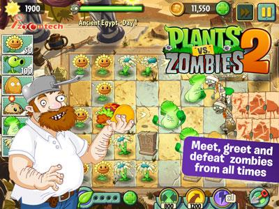 بازی اندرویدی Plants vs. Zombies نسخه دوم