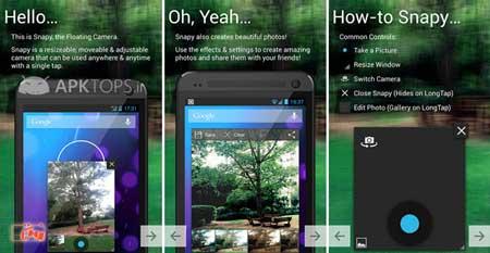 اپلیکیشنی برای شکار لحظه ها در دوربین گوشی های اندرویدی