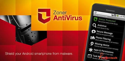 آنتی ویروس برای اندروید