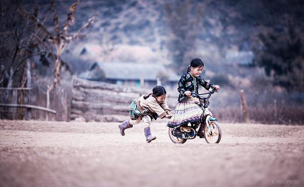 تصاویر شگفت انگیز از بازی های کودکانه در سراسر جهان