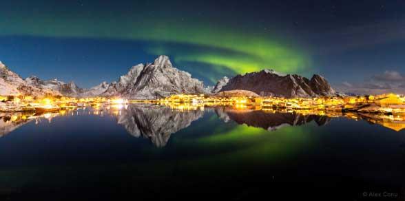 هفت عکس فوق العاده زیبا از زمین و آسمان حتما ببینید