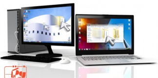 اشتراک گذاری فایل بین دو کامپیوتر