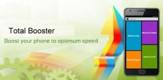 اپلیکیشن Total Booster برای افزایش سرعت اندروید