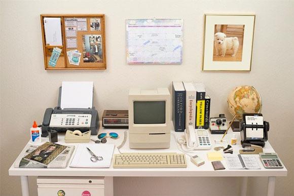 میز های کامپیوتر قدیمی