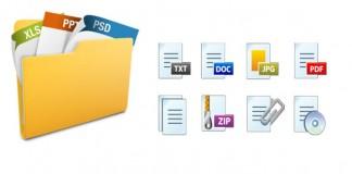پسوند فایل ها