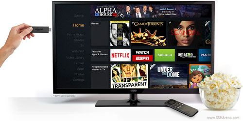 Amazon launches Fire TV Stick