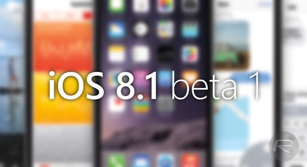 اولین بتای آی او اس 8.1 برای توسعه دهندگان عرضه شد