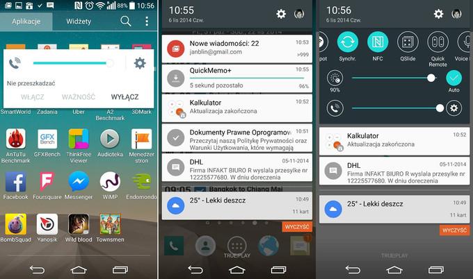 تصاویری از گوشی LG G3 بعد از آپدیت اندروید 5