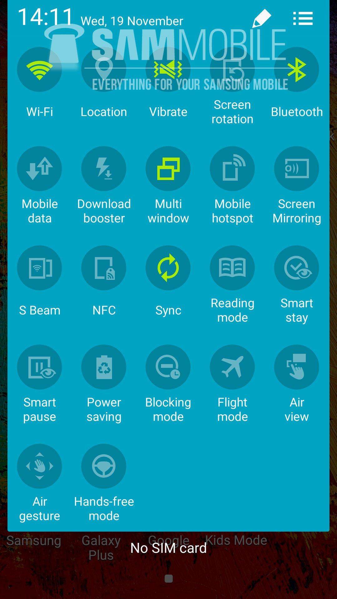 تصاویری از اندروید 5 در گوشی گلکسی نوت 3 را ببینیدgalaxy-note-3-android-5-1