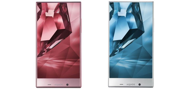 Sharp AQUOS Crystal X is another smartphone with edgeless display