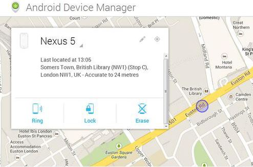 adndroid device manager