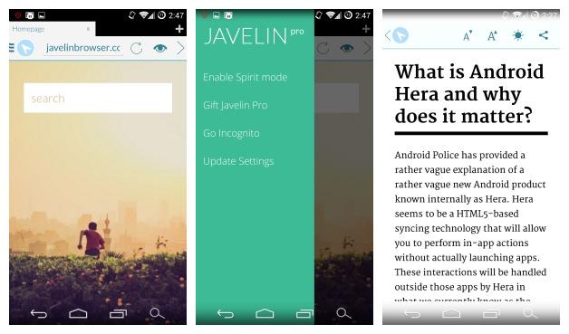 Javelin-Browser