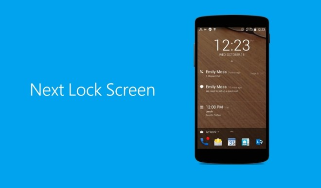 Next Lock Screen for Android-zoomtech.ir