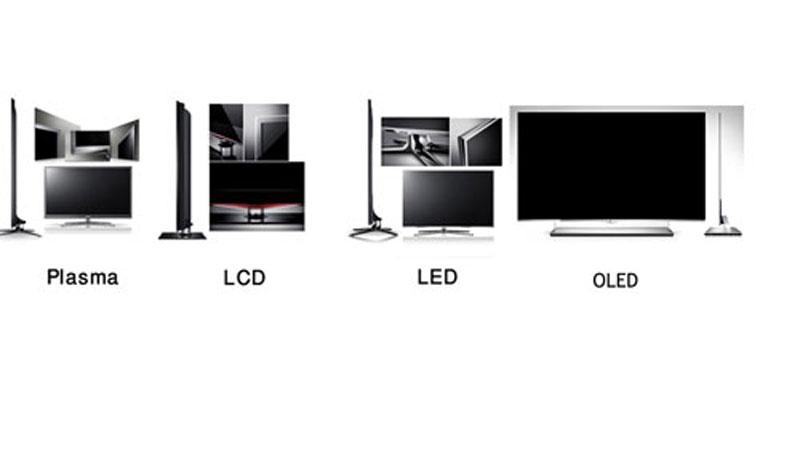 مقایسه مانیتور های Plasma ، LCD ، LED  وOLED