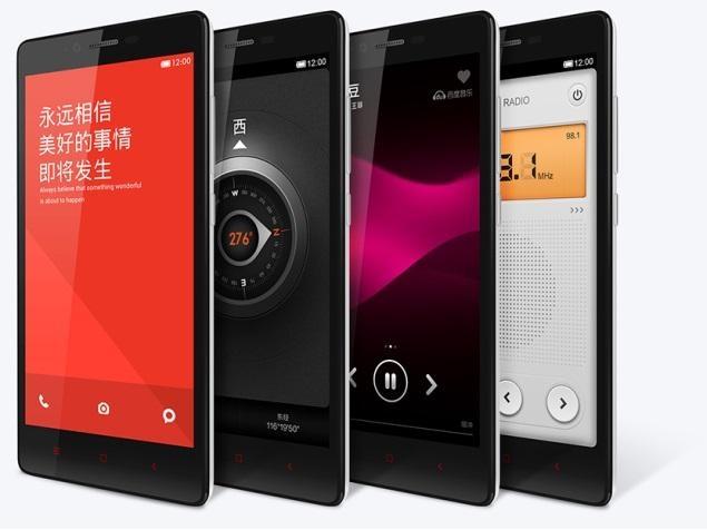 گوشی xiaomi RedMi 1S در 4 ژانویه عرضه می شود