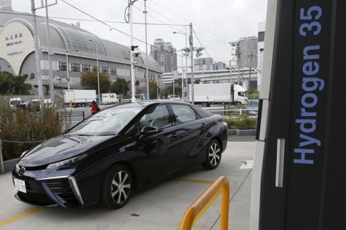 آشنایی با خودرو های هیدروژنی