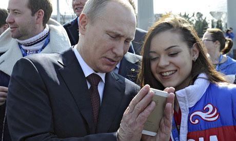 گوشی ولادیمر پوتین