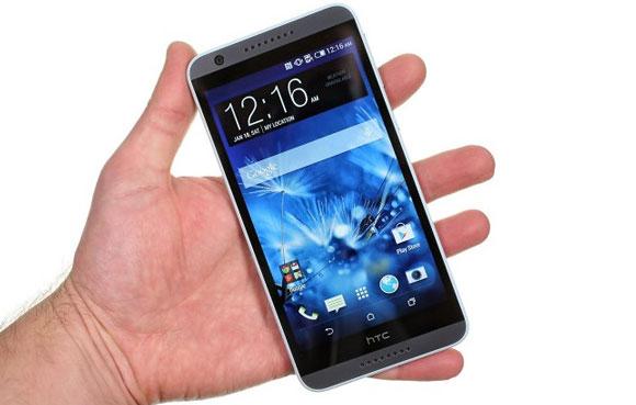 نگاهی کوتاه به گوشی HTC 820