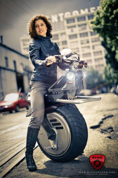 موتور سیکلت یک چرخ