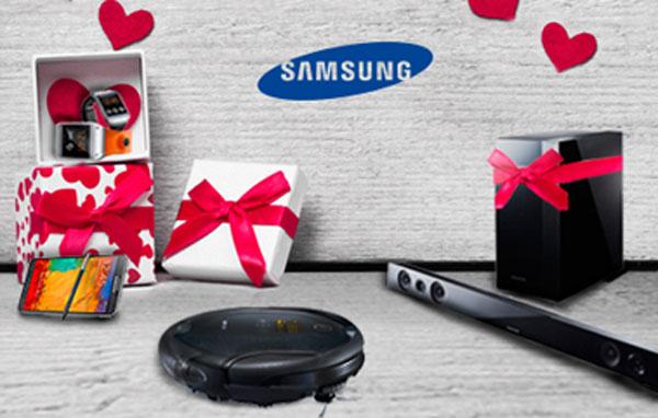 روز ولنتاین را با سامسونگ همراه باشید.