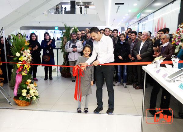 """مراسم افتتاح فروشگاه اُرُد """"OROD"""" در بازار چارسو"""