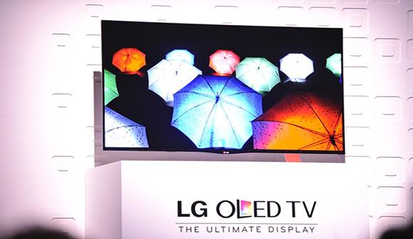 ال جی هم تلویزیون منحنی خود را راهی بازار کرد