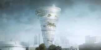 برج عظیم جثه , طوفان تورنادو