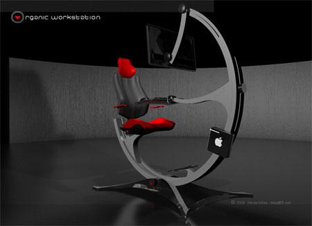 جالب ترین میز و صندلی کامپیوتر در آینده