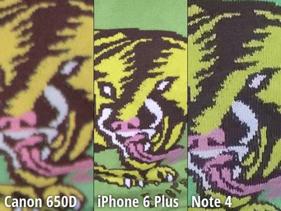 مقایسه دوربین نوت 4 و آیفون 6 پلاس