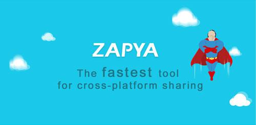 انتقال فایل از اندروید به آی اوس توسط زاپیا