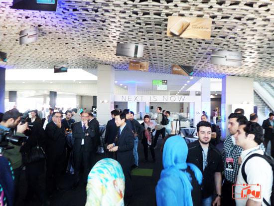 %name گزارش تصویری از مراسم رونمایی رسمی گلکسی اس ۶ و اس ۶ اج در تهران