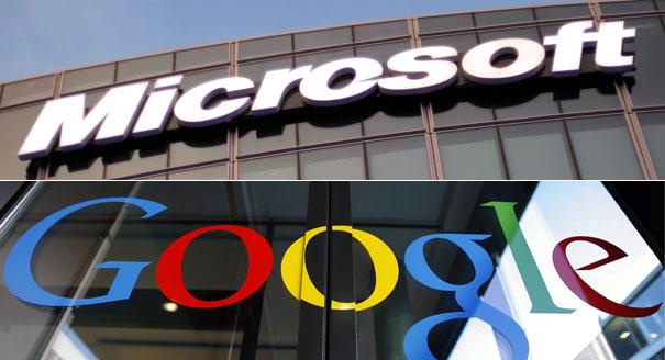 مایکروسافت و گوگل در نبرد تنگاتنگ جهانی سوم !