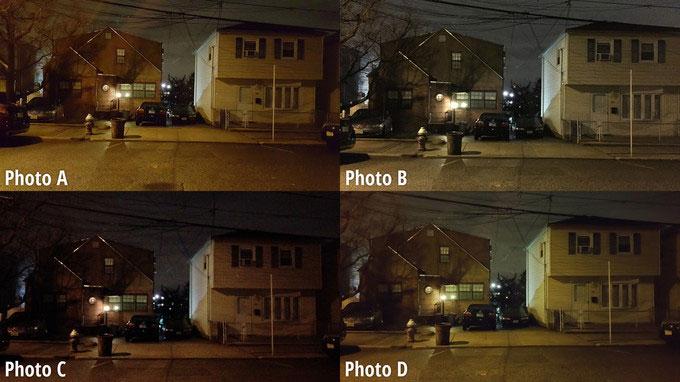 مقایسه کیفیت دوربین