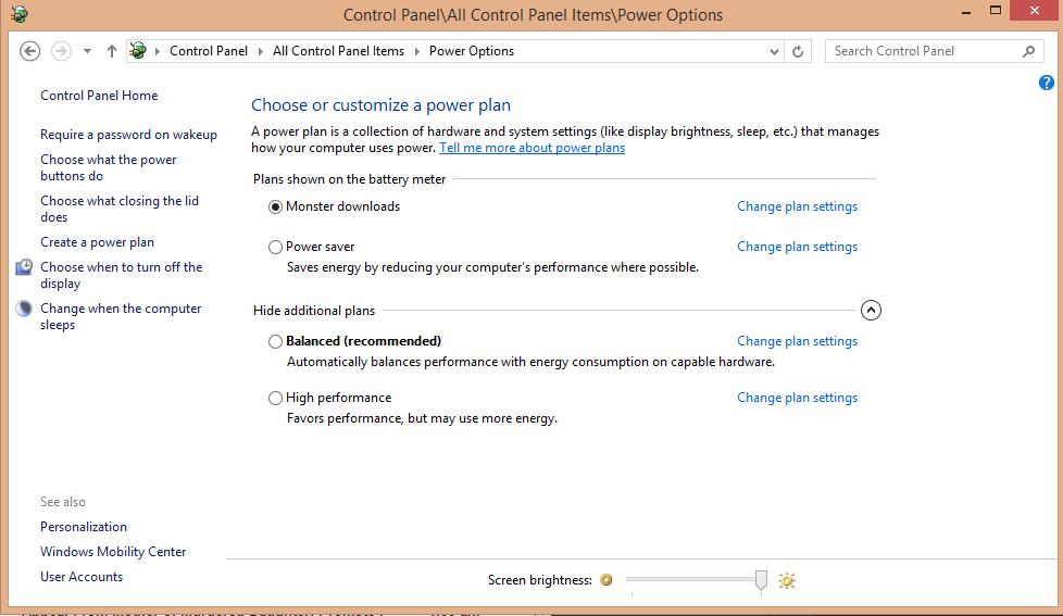 %name شخصی سازی تنظیمات Power در ویندوز