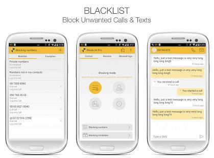 نرم افزار BlackList