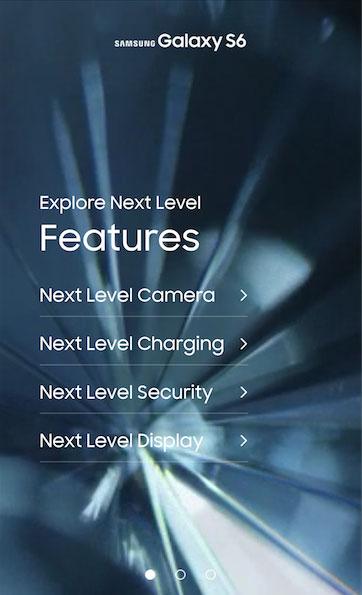 اپلیکیشن S6 Experience