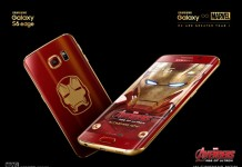 طرح Iron Man گلکسی اس 6 اج