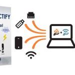 اشتراک گذاری اینترنت با وایرلس لپ تاپ