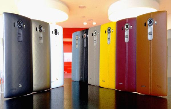 ال جی جی 4 با پوشش چرمی اش در بازار های مهم سراسر جهان
