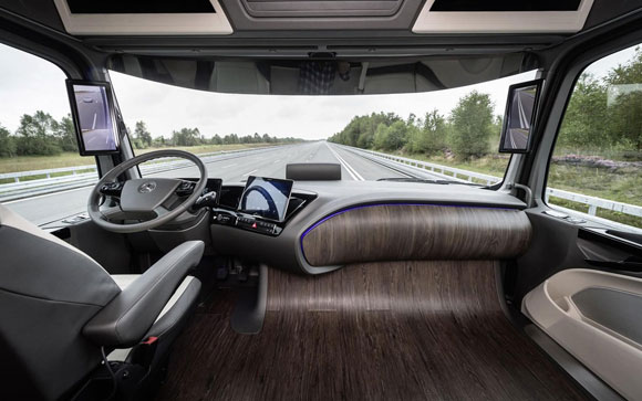 Introducing the future of Mercedes trucks