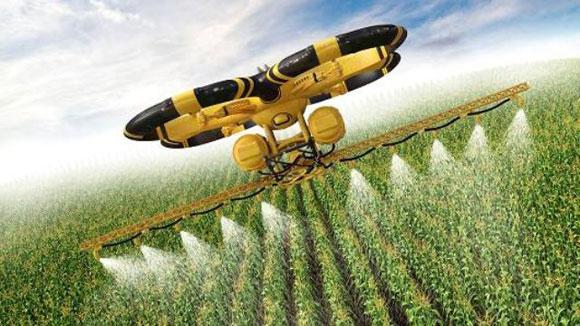 استفاده پهباد ها در کشاورزی