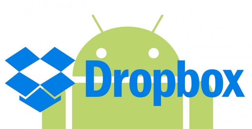 آپدیت جدید برای نسخه اندروید Dropbox