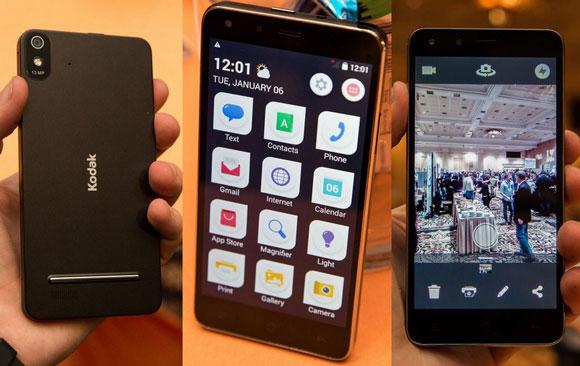 شرکت KODAK اولین گوشی اندرویدی خود با نام IM5 را وارد بازار کرد