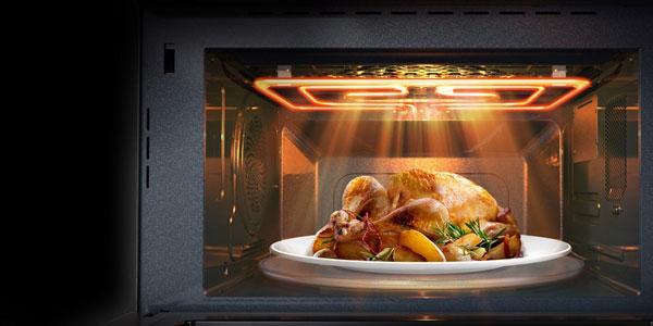 با مایکروفر جدید سامسونگ، آشپزی به سبک سرآشپزها را تجربه کنید