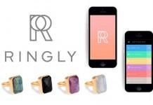 انگشتر ringly شما را از اعلان هایتان با خبر میکند