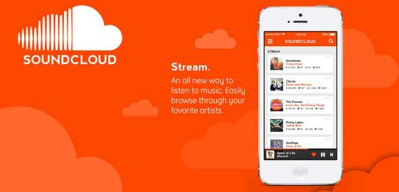 معرفی soundcloud:خانه ی موسیقی