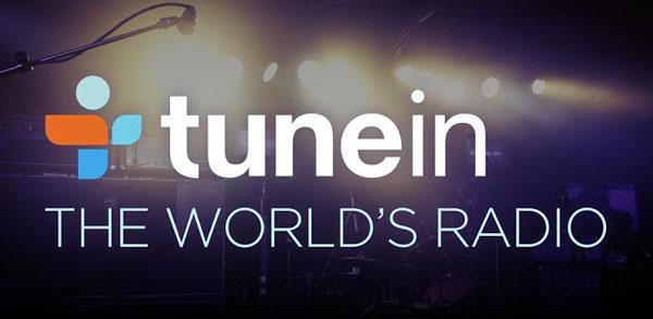 اپلیکیشن پخش رادیو TuneIn Radio