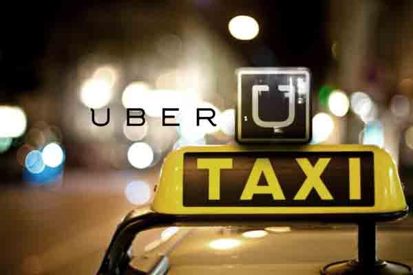اپ تاکسی UBER